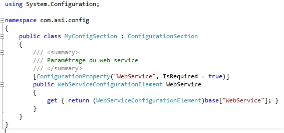 code-section-configuration